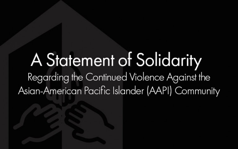 Statement of Solidarity with the Asian American Pacific Islander Community