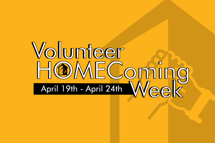 Volunteer HOMEComing Week 2021