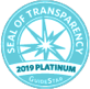 Guidestar Seal of Transparency 2019 Platinum